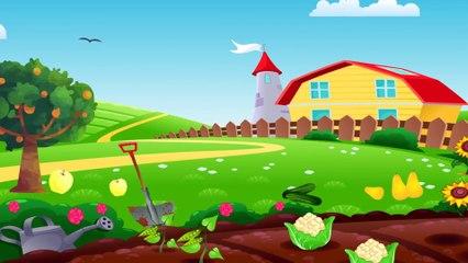 Учим Цвета: Зеленый и Желтый - Развивающий мультик для малышей о цветах