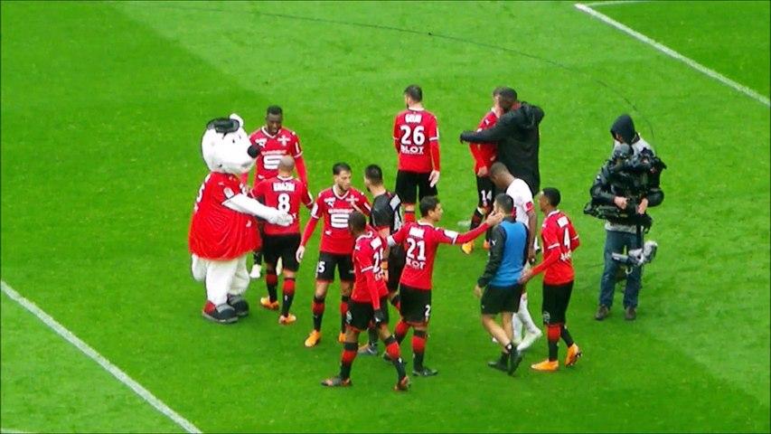 29/04/18 : SRFC-TFC : les Rennais se congratulent