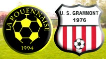 La Rouennaise 0 - 0 Grammont