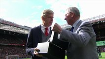Sir Alex Ferguson give Arsen Wenger award of 'Fair Play' - Manchester United 1-0 Arsenal 29.04.2018