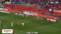 Résumé et buts Rennes 2-1 Toulouse - All Goals & highlights -