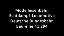 Dampflokomotive BR 41 294 als Spur 1 Echtdampf Lokomotive Deutsche Bundesbahn - Ein Video von Pennula zum Thema Eisenbahn-Schauanlagen und Modellbau sowie Modelleisenbahnen