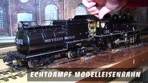 Echtdampf Modelleisenbahn in Spur 1 - Ein Video von Pennula zum Thema Eisenbahn-Schauanlagen und Modellbau sowie Modelleisenbahnen
