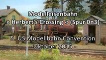 Modelleisenbahn Herbert's Crossing Waldbahn in Spur 0n3 TimeSaver - Ein Video von Pennula zum Thema Eisenbahn-Schauanlagen und Modellbau sowie Modelleisenbahnen