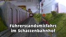 Führerstandsmitfahrt im Modellbahn Schattenbahnhof Eschborn - Ein Video von Pennula zum Thema Eisenbahn-Schauanlagen und Modellbau sowie Modelleisenbahnen