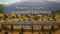 Modelleisenbahn APARAMA in Spur H0n3 - Ein Video von Pennula zum Thema Eisenbahn-Schauanlagen und Modellbau sowie Modelleisenbahnen