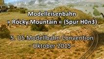 Modellbahn Rocky Mountain Railroad Studio in Spur H0n3 - Ein Video von Pennula zum Thema Eisenbahn-Schauanlagen und Modellbau sowie Modelleisenbahnen