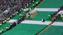 Celtic 5 - Rangers 0 - Rangers Fans at Final Whistle - 29 April 2018
