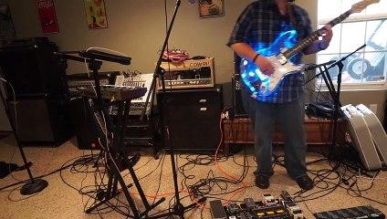 Custom Acrylic LED Guitar