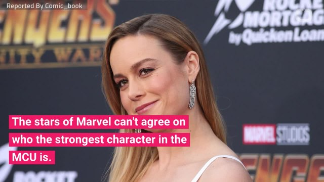 Marvel Actors Reveal The Strongest MCU Character