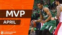Turkish Airlines EuroLeague MVP for April: Brandon Davies, Zalgiris Kaunas