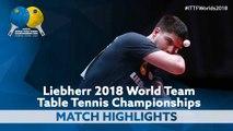 2018 World Team Championships Highlights | Dimitrij Ovtcharov vs Khalid Assar (Group)