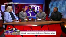 Jason Whitlock on Lamar Jackson going to the Ravens, Darnold to the Jets   NFL   SPEAK FOR YOURSELF