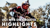 UCI MTB 2018: Downhill racing highlights from Croatia.