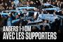 Angers - OM (1-1)   Le match avec les supporters