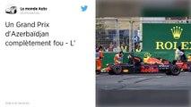 Formule 1. Lewis Hamilton, opportuniste, remporte un Grand Prix d'Azerbaïdjan à rebondissements !