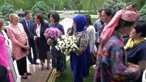 Emine Erdoğan, 'Özbekistan Sanatı, Gelenekten Esinlenerek' adlı sergiye katıldı - TAŞKENT