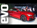 Infiniti Q50 Eau Rouge at Detroit 2014 | evo MOTOR SHOWS