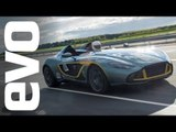 Aston Martin CC100 shakedown | evo TV