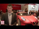 Alfa Romeo 4C Concept - Geneva Motor Show - Auto Express