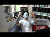 Corey Taylor Tries On A New Mask