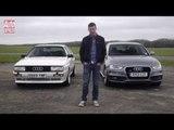 Audi Quattro 20v vs Audi A4 quattro - Auto Express