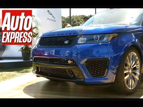 Range Rover Sport SVR – the fastest Range Rover ever