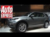 Land Rover Discovery Sport at the Paris Motor Show