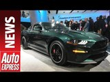 Ford Bullitt Mustang GT celebrates 50th anniversary of Steve McQueen blockbuster