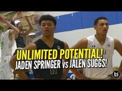 5 Star 2020 Guards Battle Jaden Springer vs Jalen Suggs UAA