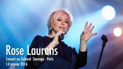 Report'live Rose Laurens, 14/01/16, Cabaret Sauvage Paris