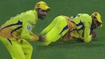 IPL 2018, CSK vs DD : Ravindra Jadeja takes a funny catch to dismiss Rishabh Pant | वनइंडिया हिंदी