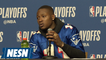 Terry Rozier On Pushing Through Celtics Injuries