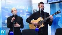 "Madame Monsieur chante en live ""Mercy"" dans Europe matin"