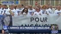 La famille d'Angélique ouvre la marche blanche à Wambrechies