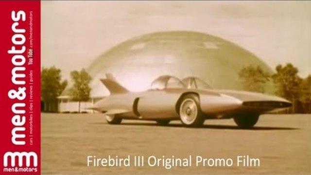 General Motors Firebird III Original Promo Film - 1958