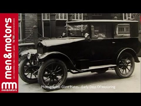 Photographic Glass Plates – Early Days Of Motoring
