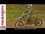 Enduro Off-Road Motorbike Racing - Wales