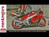 Second-Hand Motorcycle Comparison: Kawasaki ZXR 750 vs Yamaha FZR 1000 vs Honda CBR 900 Fireblade