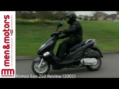 Kymco Ego 250 Review (2001)
