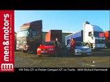 VW Polo GTi vs Proton Compact GTi vs Trucks - With Richard Hammond