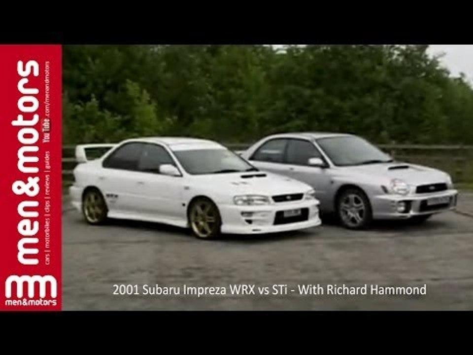 Subaru Wrx Vs Sti >> 2001 Subaru Impreza Wrx Vs Sti With Richard Hammond