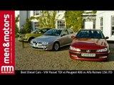 Best Diesel Cars - VW Passat TDI vs Peugeot 406 vs Alfa Romeo 156 JTD