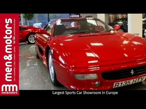 Largest Sports Car Showroom In Europe