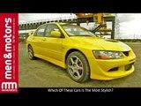 Which Of These Cars Is The Most Stylish? - BMW M3, Mitsubishi Evo 8 & Subaru Impreza STi