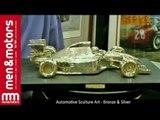 Automotive Sculture Art - Bronze & Silver