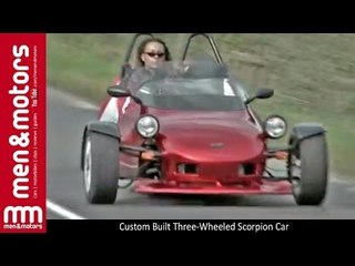 Custom Built Three-Wheeled Scorpion Car - video dailymotion