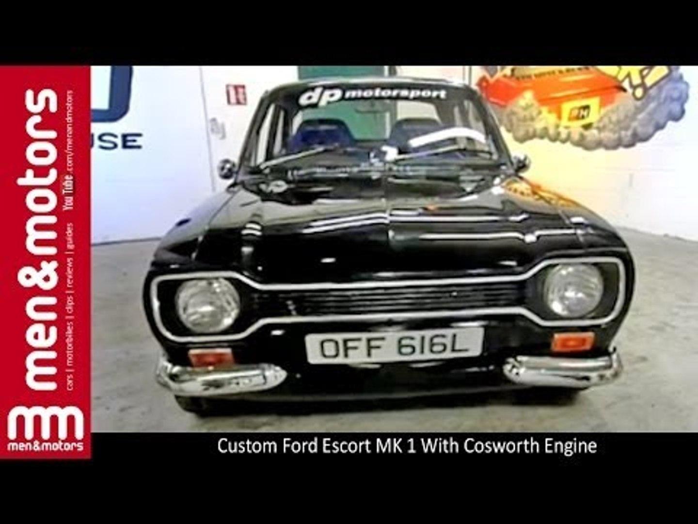 Custom Ford Escort MK 1 With Cosworth Engine