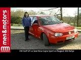 1999 Hot-Hatch Comparison: VW Golf GTi vs Seat Ibiza Cupra Sport vs Peugeot 306 Rallye
