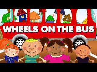 The Wheels on The Bus | Kids Sing-a-Long!